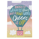 Renewing Faith, Proverbs 12:25 Kind Word Pass Along Cards, 2 x 3 inches, Set of 10