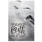 Salt & Light, For We Walk By Faith Church Bulletins, 8 1/2 x 11 inches Flat, 100 Count