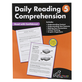 Creative Teaching Press, Daily Reading Comprehension, Reproducible Paperback, 120 Pages, Grade 5