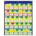 Carson-Dellosa, Classroom Management Blue and Yellow Pocket Chart, 20