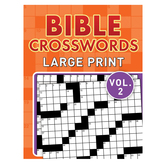 Bible Crosswords Large Print Volume 2, by Barbour, Paperback