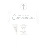 Lighthouse Christian, First Communion Tabletop Cross, Resin, White