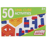 Junior Learning, 50 Link Cube Activities, 51 Pieces