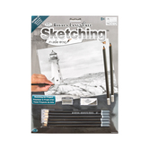 Royal & Langnickel, Sketching Made Easy Set, Lighthouse Point, 8 Years and Older, 9 Pieces