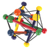 Manhattan Toy Company, Skwish Classic Teether Rattling Toy, 6 inches