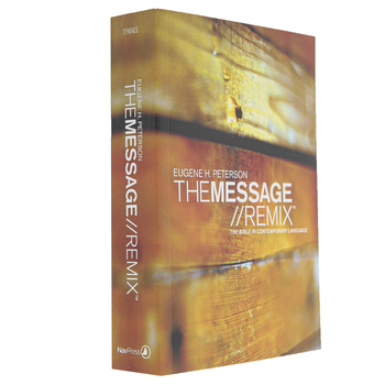 MSG The Message Remix 2.0 Bible, Paperback