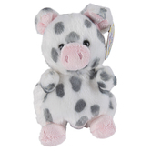 Aurora, Palm Pals, Piggles the Spotted Piglet Stuffed Animal, 5 inches