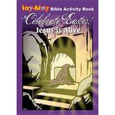 itty-bitty, Celebrate Easter: Jesus Is Alive Bible Activity Book, by Warner Press, Paperback