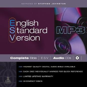 ESV Complete Audio Bible, 3 MP3 CDs