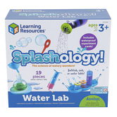 Learning Resources, Splashology! Water Lab, Multi-Colored, Ages 3 Years and Older, 19 Pieces