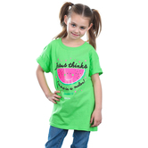 Kerusso, Jeremiah 1:5, Jesus Thinks I'm One In a Melon, Kid's Short Sleeve T-Shirt, Lime, 3T-YL