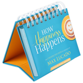 DaySpring, Max Lucado How Happiness Happens: The Unexpected Path to Genuine Joy Perpetual Calendar, 5 1/4 x 4 1/4 x 1 1/4 Inches