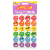 TREND, Colorful Smiles Scratch 'n Sniff Stinky Stickers, Tutti-Fruiti, Multi-Colored, Pack of 96
