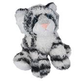 Aurora, Mini Flopsies, Shazam the White Tiger Stuffed Animal, 8 inches