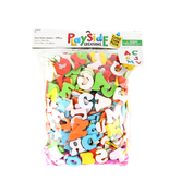 Playside Creations, Foam Letter Stickers, Multi-Colored, Assorted Sizes, 598 Count
