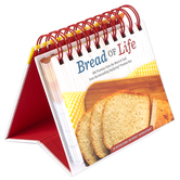 DaySpring, Bread of Life Perpetual Calendar, 5 1/2 x 5 1/4 x 1 1/4  Inches