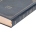 KJV Large Print Personal Size Reference Bible, Imitation Leather, Navy, Thumb Indexed