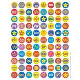 Eureka, Star Friends Mini Stickers, Multi-Colored, Pack of 700