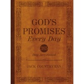 God's Promises Every Day, by Jack Countryman, Hardcover