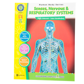 Classroom Complete Press, Senses, Nervous and Respiratory Systems, Paperback, 60 Pages, Grades 5-8