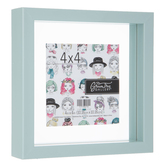 Green Tree Gallery, Light Blue Float Frame, 7 x 7 x 1.50 Inches