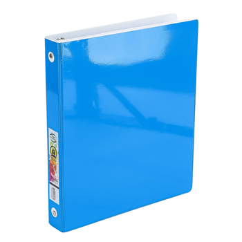 Bazic Products, Tinted View Binder, 8.5 x 11 x 1 Inch, Assortment, 1 Each