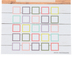 Farmhouse Lane Collection, Customizable Mini Incentive Charts, 5.25 x 6 Inches, 36 Sheets