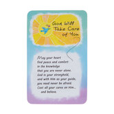 Blue Mountain Arts, God Will Take Care Of You Wallet Card, 2 x 3 1/4 inches