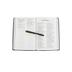 NKJV Thinline Bible, Large Print, Leather-like, Black