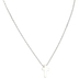 Howard's, Stud Buds, Cross Necklace, Metal, Silver, 16 inches