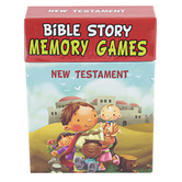 Christian Art Gifts, Bible Story Memory Games New Testament, Box Set, 2-6 Players, 3.50 x  4.62 x 1 Inch