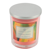 Chesapeake Bay, Tropical Papaya Scented Jar Candle, Coral, 16 ounces