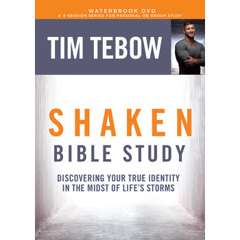 Shaken Bible Study DVD: Discovering Your True Identity in the Midst of Life's Storms, by Tim Tebow