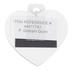 P. Graham Dunn, Love Is A Four Legged Word Heart Magnet, Acrylic, 2 3/4 x 2 3/4 inches