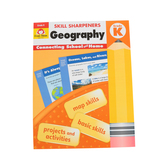 Evan-Moor, Skill Sharpeners Geography K Activity Book, Paperback, 144 Pages, Grade K