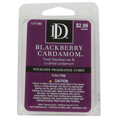 D&D, Blackberry Cardamom Wickless Fragrance Cubes, Purple, 2 1/2 ounces