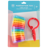 Manhattan Toy Company, Links-to-Go Rings, 13 Pieces