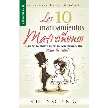 Los 10 Mandamientos del Matrimonio, by Ed Young, Paperback