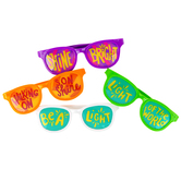 Playside Creations, Inspiring Religious Children's Sunglasses, 6 x 6 Inches, 4 Pack
