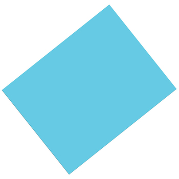 Pacon, Heavy Poster Board, 22 x 28 Inches, Light Blue, 1 Piece