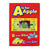 A is for Apple Shiny Slider, by Flying Frog Publishing, Board Book