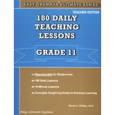 Easy Grammar Ultimate Series 180 Daily Teaching Lessons Grade 11 Teacher
