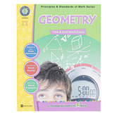 Classroom Complete Press, Geometry Task and Drill Worksheets Resource, Reproducible, 62 Pages, Grades 6-8