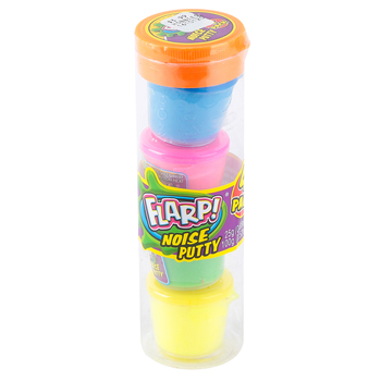 Ja-Ru Inc., Flarp Noise Putty, Tube of 4, 3.52 ounces total , Ages 3 and Up