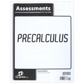 BJU Press, Precalculus Math Assessments, 2nd Edition, 20 Pages, Paperback, Grades 12