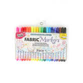 Tulip, Fabric Markers, Assorted, Fine Point, 20 Count