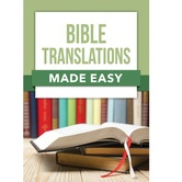 Bible Translations Made Easy, by Rose Publishing, Paperback