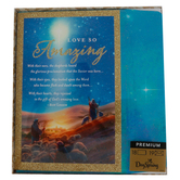 DaySpring, Roy Lessin, Luke 2:11 Love So Amazing Boxed Christmas Cards, 5 1/2 x 7 3/4 inches, 18 cards
