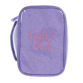 Dicksons, Gods Girl Bible Cover, Polyurethane, Purple and Pink, Large