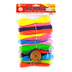 Pepperell, Rexlace Value Pack Neon, 450 feet, Assorted Neon Colors